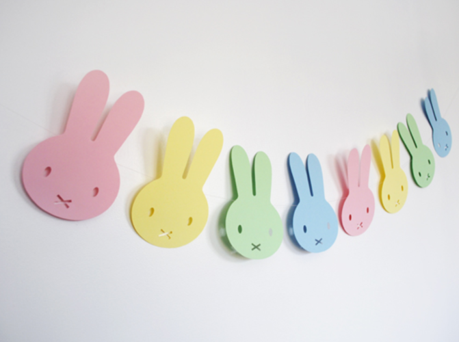 Bunny Garland Craft