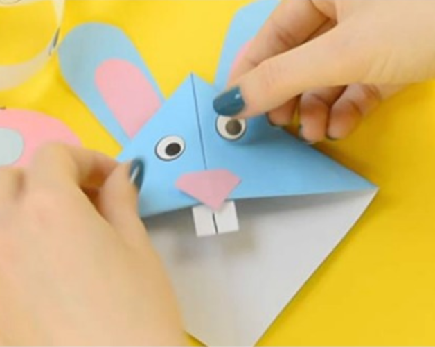 bunny bookmark easter craft