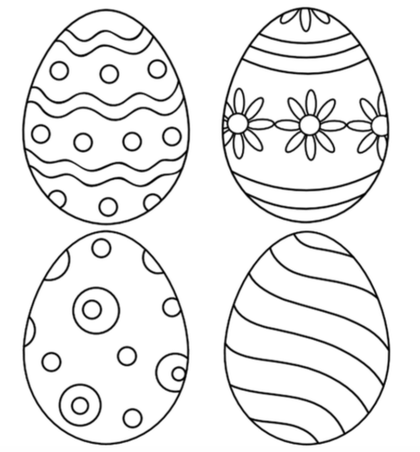 FREE easter coloing pages