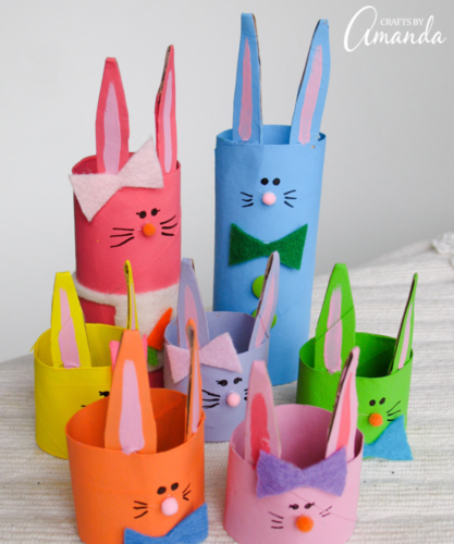 Bunny Family Craft