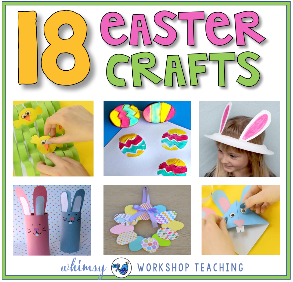 18 Easter Craft ideas for Primary
