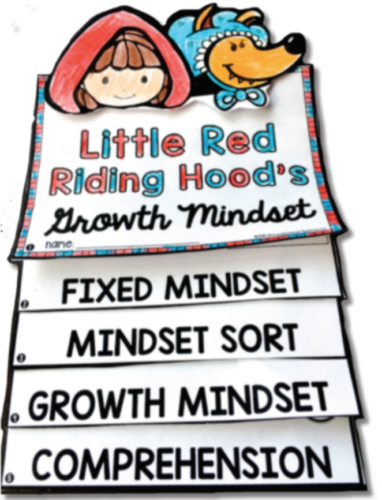 Growth Mindset in Literature ideas