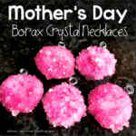 Mother's Day Gift: Borax Crystal Necklaces