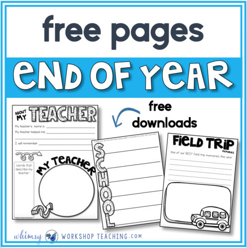 Free Memory Book pages