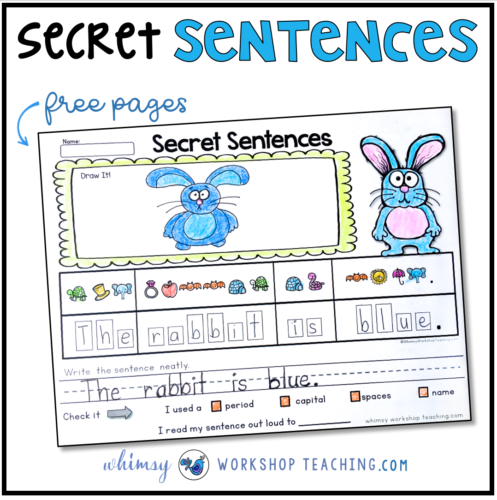 Free sample pages for Secret Sentences
