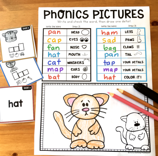 Directed Drawing for Phonics