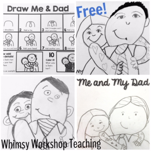 Dad Directed Drawings