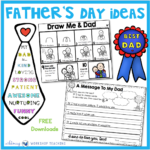 Father's Day Directed Drawing Ideas