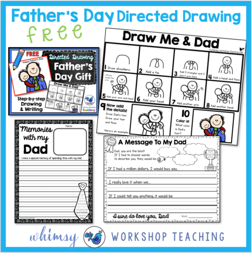 Directed Drawing Fathers Day