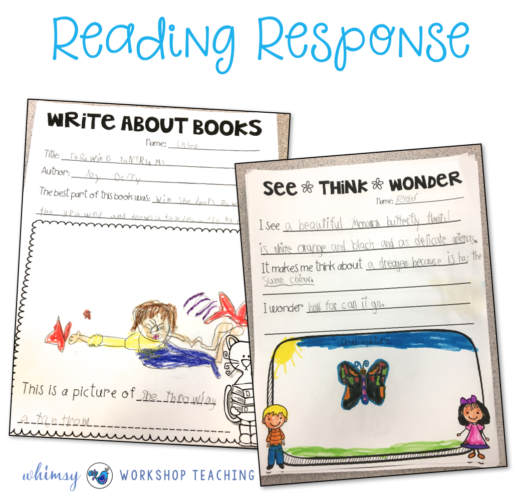 Reading Response Templates for any book or novel