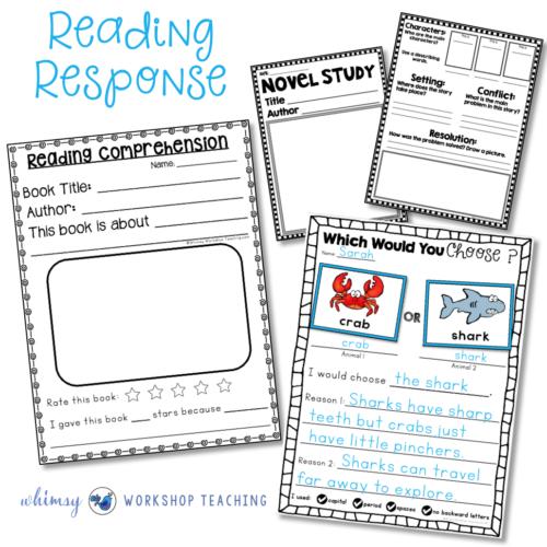 Reading response templates