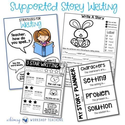 Supported story writing templates
