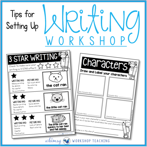Writing Workshop : Setting Up For Success!