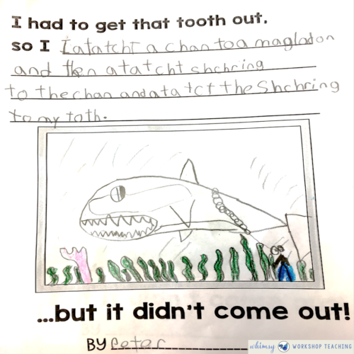 Class Book pages How To Lose a Tooth