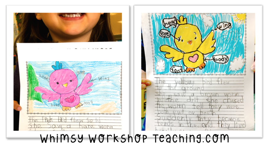 Supportive writing story frame
