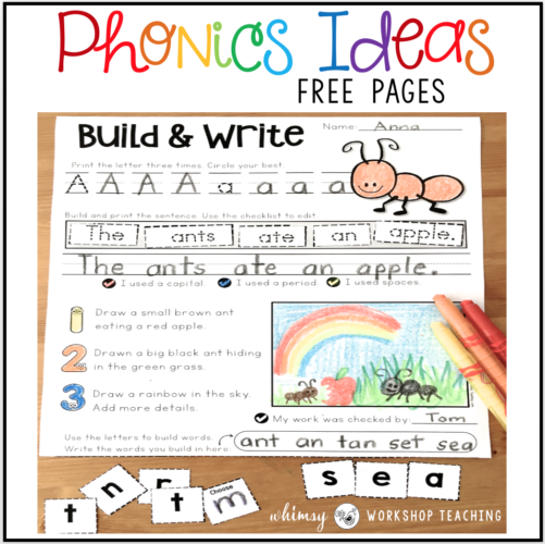 free sample pages from Build and Write