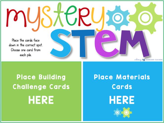 Mystery STEM Game Board