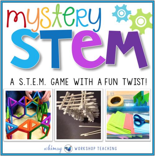 Mystery STEM: A Stem Game With A Twist