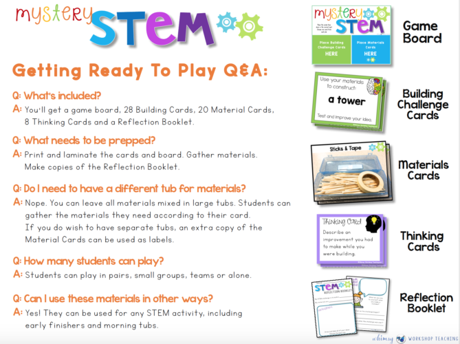 How Does Mystery STEM work in the classroom?