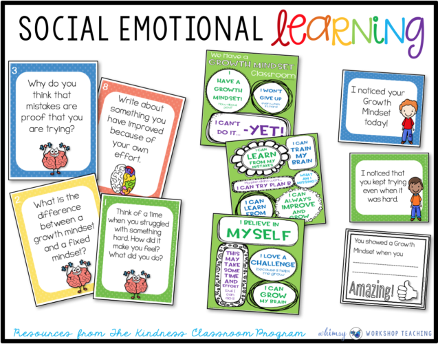 Social Emotional Learning Unit 2 Growth Mindset