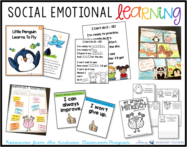 Social Emotional Learning Unit 2 Growth Mindset