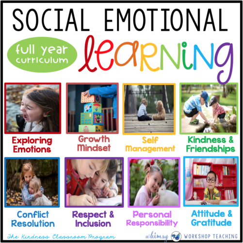 Social Emotional Learning full year curriculum