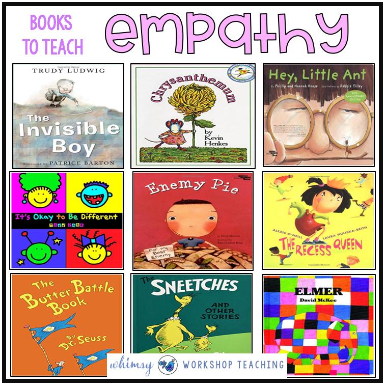 Book List to teach empathy