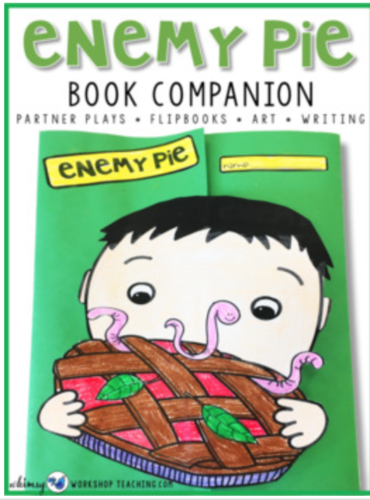 enemy pie book companion