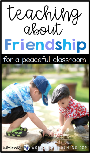 Teach social skills and character development directly with engaging lessons and free activities. #conflictresolution #kindness #friendship #growthmindset #classroommanagement #charactereducation #socialemotionallearning #SEL #teacherfreebie