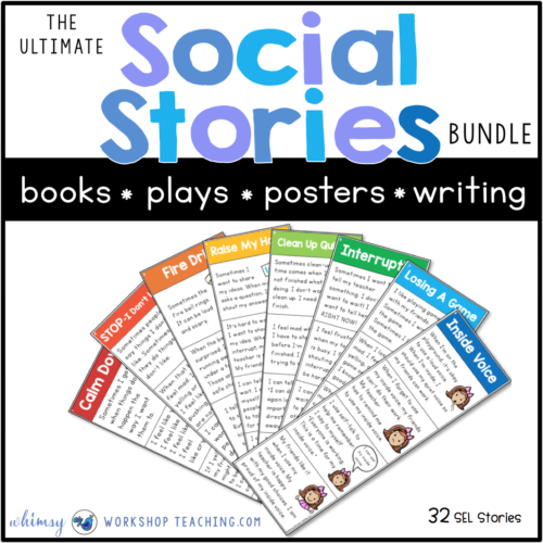 image about Free Printable Social Story Template referred to as Education Social Abilities with Social Reviews - Whimsy Workshop
