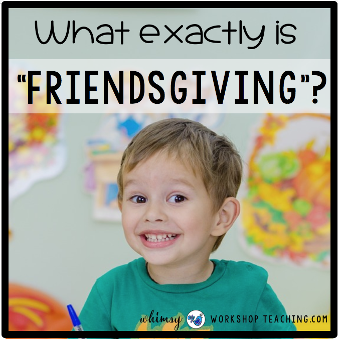 boy making fall crafts and thanksgiving or friendsgiving crafts