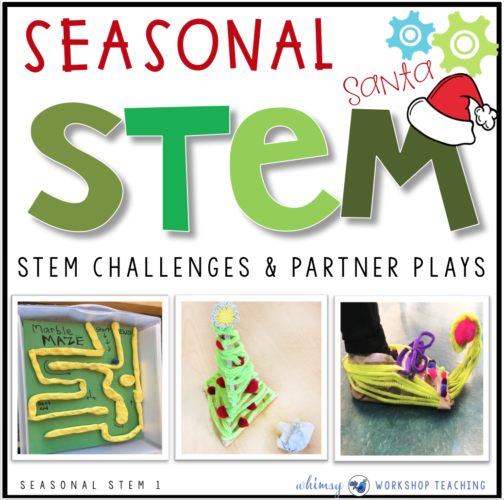 Seasonal STEM with Partner Plays