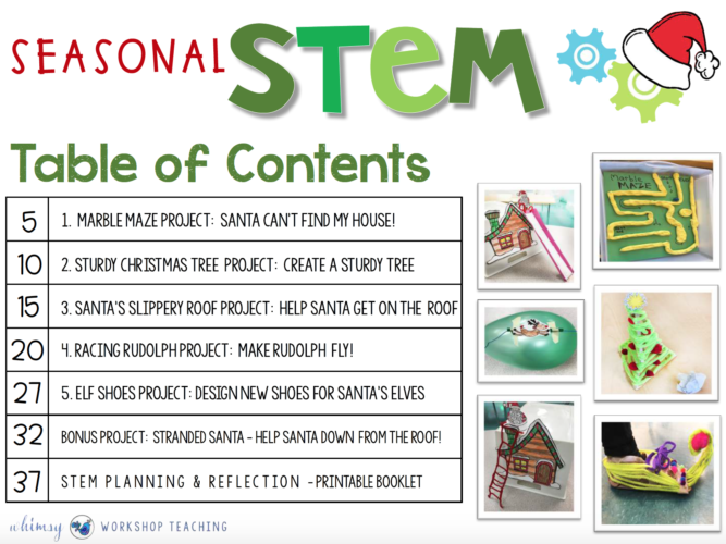 seasonal stem projects