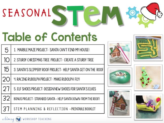 seasonal stem projects