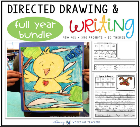 Directed Drawing and writing bundle for the entire school year