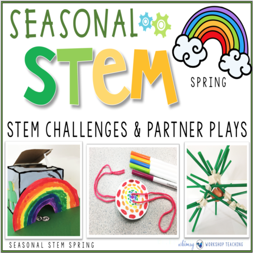 Seasonal STEM challenges for Spring
