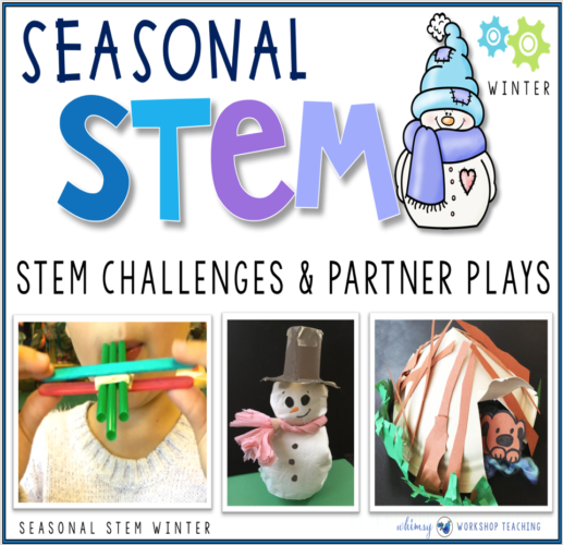 Seasonal STEM challenges WINTER themes