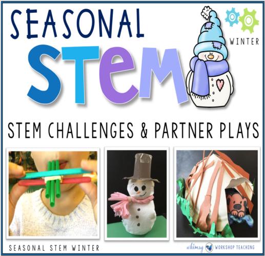 Seasonal STEM challenges WINTER themes