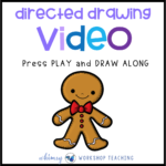 Directed Drawing Video: Gingerbread Man
