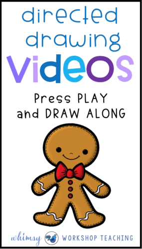 Directed Drawing is a great way to combine drawing and writing skills. Just play these videos in your class and let students draw along! Lots of directed drawing and writing activities for grade one and two!