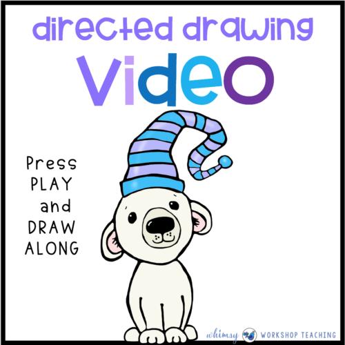 Directed Drawing Videos Polar Bear