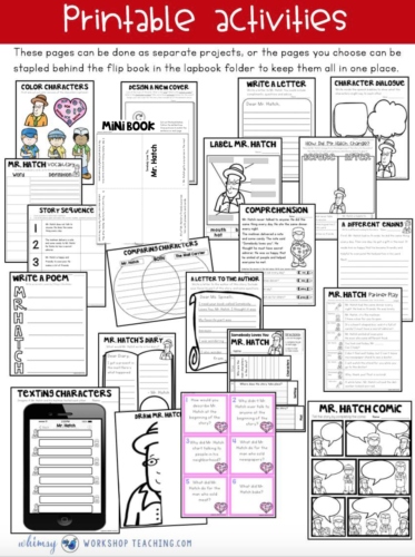 Printable pages from Mr. Hatch