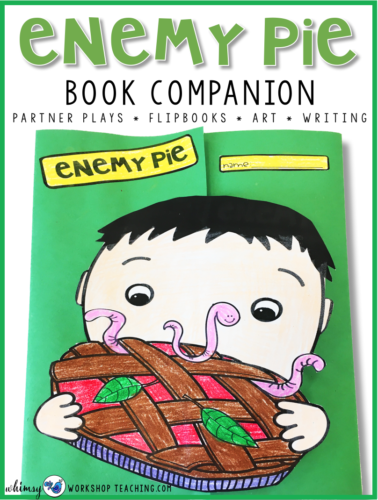 Enemy Pie Book Companion cover