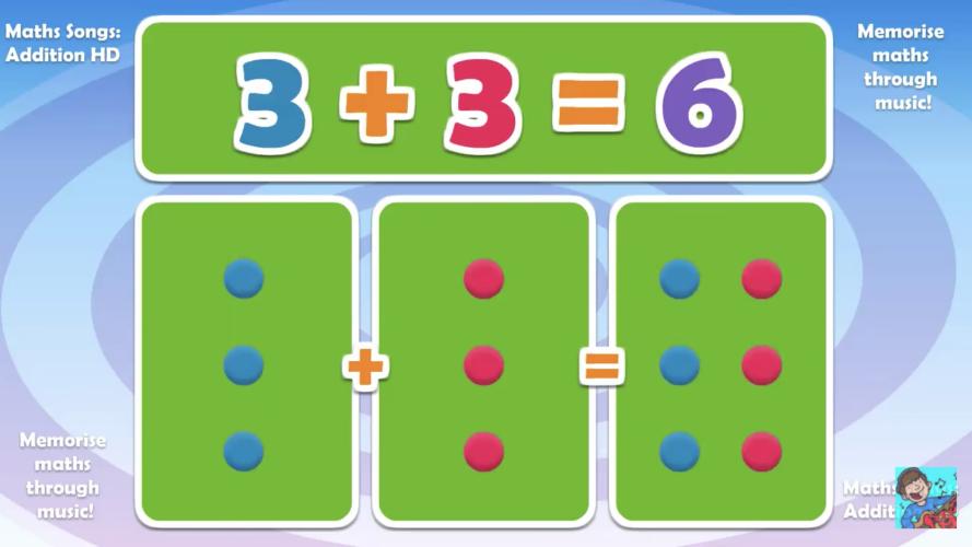 practice doubles math video