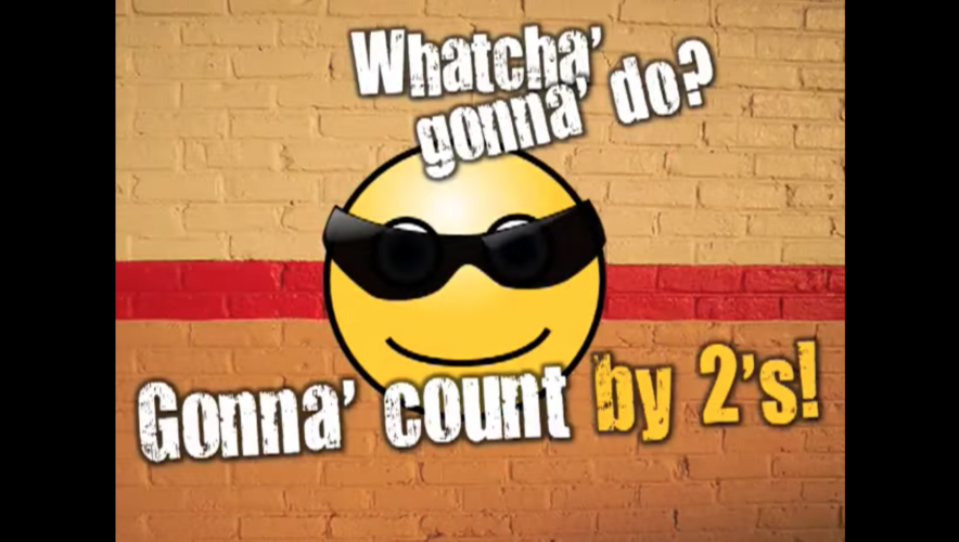 Skip Counting math Video
