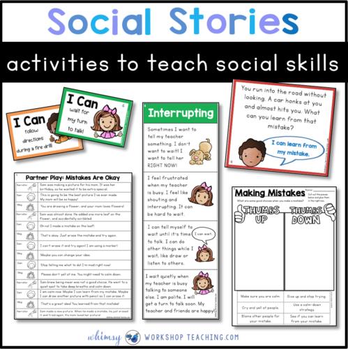 social skills ideas