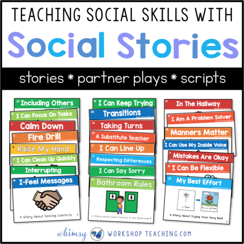 Teaching Social Skills for a peaceful classroom #SEL #socialskills