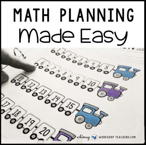 Math planning made easy with daily math warm ups and intervention binder