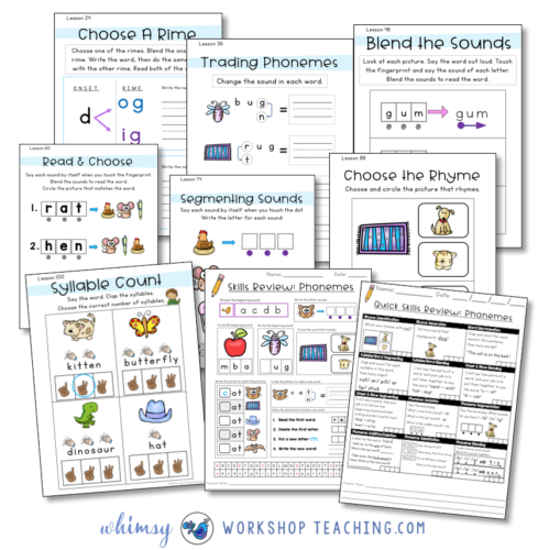 activities to practice phonemic awareness