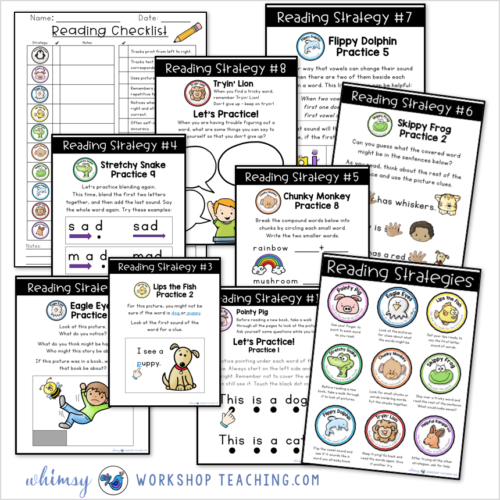 activities to practice guided reading strategies